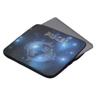 Transparent Pisces Laptop Sleeve
