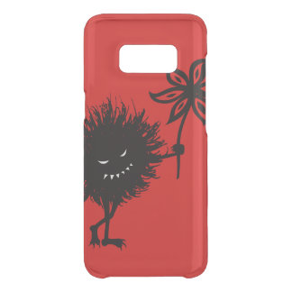 Transparent Red Evil Bug Gives Flower Uncommon Samsung Galaxy S8 Case
