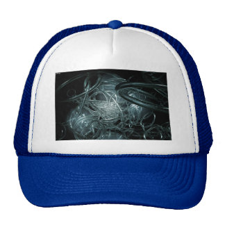 Transparent Rings Trucker Hat