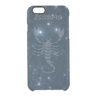 Transparent Scorpio Clear iPhone 6/6S Case
