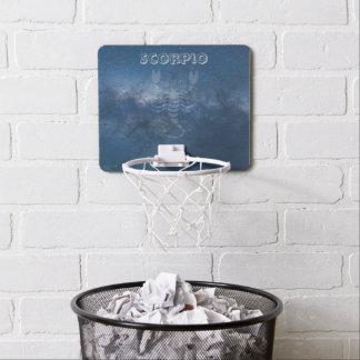 Transparent Scorpio Mini Basketball Backboard
