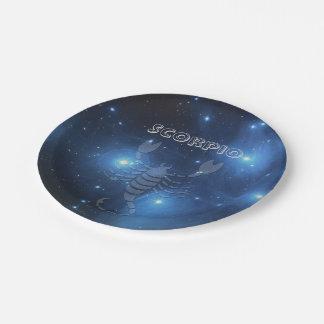 Transparent Scorpio Paper Plate