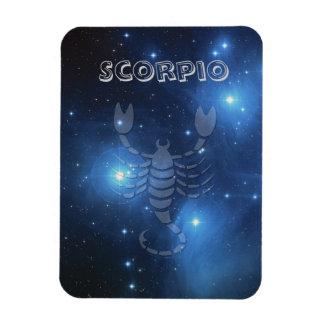Transparent Scorpio Rectangular Photo Magnet