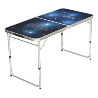 Transparent Taurus Beer Pong Table