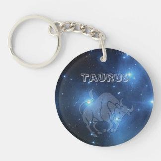 Transparent Taurus Keychain