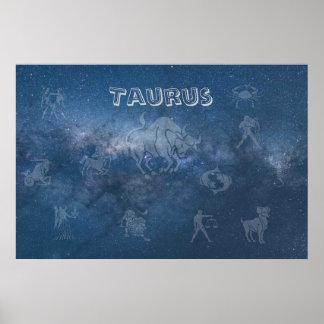 Transparent Taurus Poster