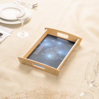 Transparent Taurus Serving Tray