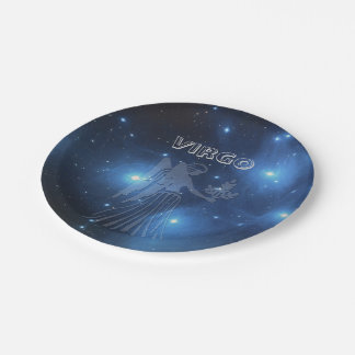 Transparent Virgo 7 Inch Paper Plate