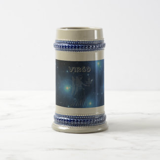 Transparent Virgo Beer Stein