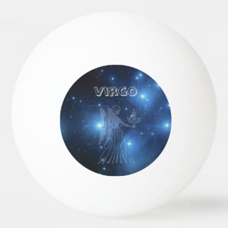 Transparent Virgo Ping Pong Ball