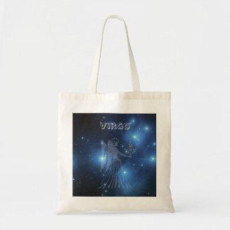 Transparent Virgo Tote Bag