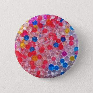 transparent water balls 2 inch round button