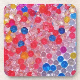 transparent water balls coaster