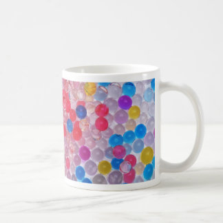 transparent water balls coffee mug