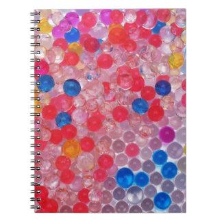 transparent water balls notebooks