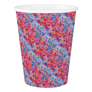 transparent water balls paper cup