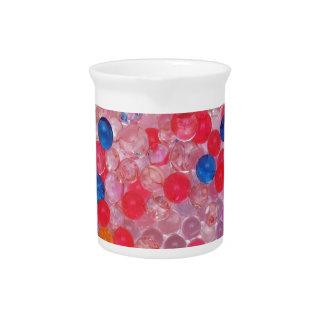 transparent water balls pitcher