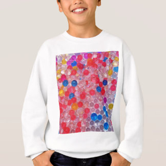 transparent water balls sweatshirt