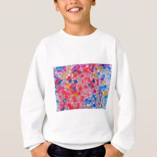 transparent water balls sweatshirt