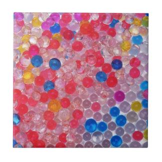transparent water balls tile