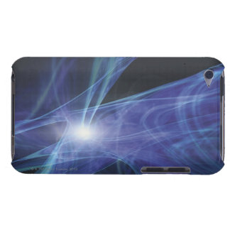 Transparent Waves Case-Mate iPod Touch Case