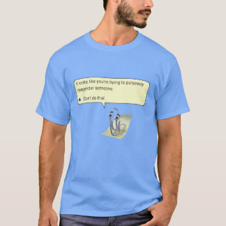 Transphobia Paperclip Hates You T-Shirt