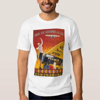 Transport aérien du Japon T Shirts