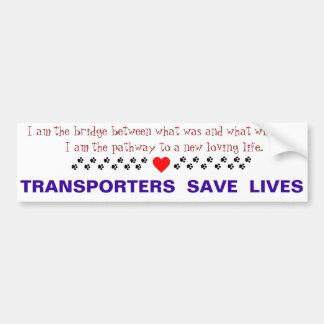 Transport Bumper Sticker
