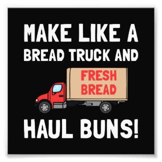 Transport de camion de pain photos