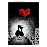 Transport de votre amour avec moi carte