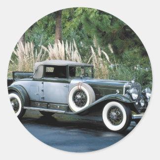 Transportation 139 classic round sticker