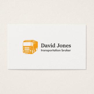 Transportation and Logistics Logo Business Card