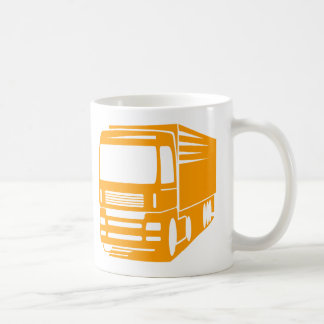 Transportation and Logistics Truck Logo Mug