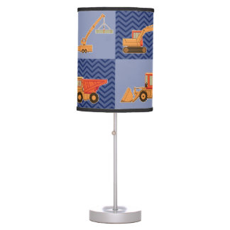 Transportation Heavy Equipment – Collage Table Lamp