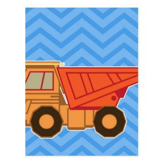 Transportation Heavy Equipment Dump truck Postcard