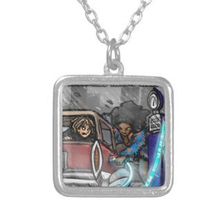 Transtirion Wizard 2 Silver Plated Necklace