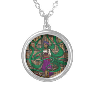 Transtirion Wizard Silver Plated Necklace