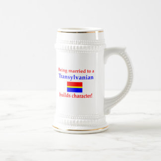 Transylvanian Builds Character 18 Oz Beer Stein