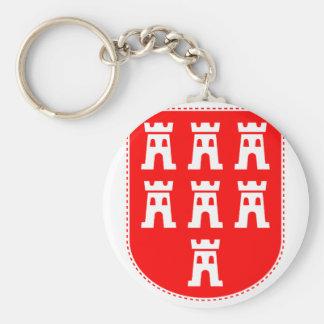Transylvanian Saxons Crest Basic Round Button Keychain