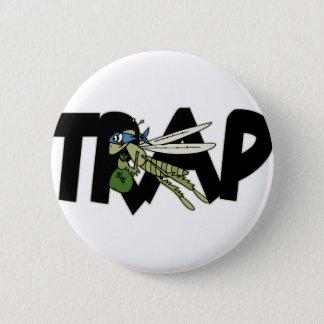Trap Grasshopper 2 Inch Round Button