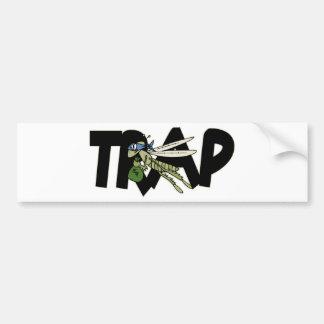 Trap Grasshopper Bumper Sticker