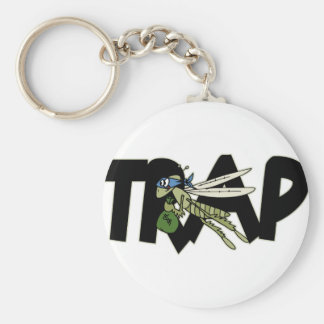 Trap Grasshopper Keychain