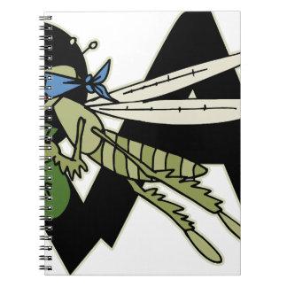 Trap Grasshopper Notebook