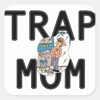 Trap Mom Square Sticker