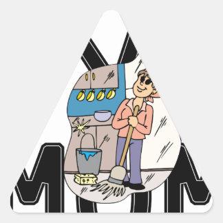 Trap Mom Triangle Sticker