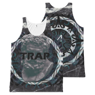 Trap Music All-Over-Print Tank Top