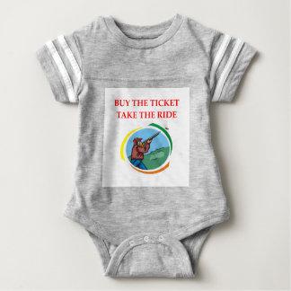 trap shooting baby bodysuit