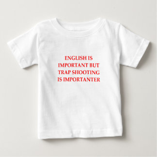 trap shooting baby T-Shirt
