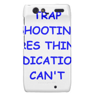 trap shooting droid RAZR cover