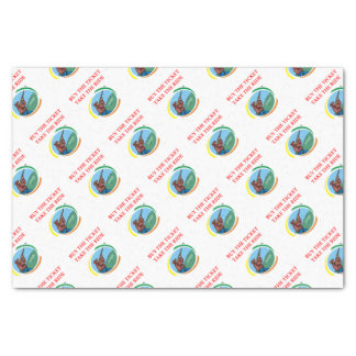 trap shooting tissue paper